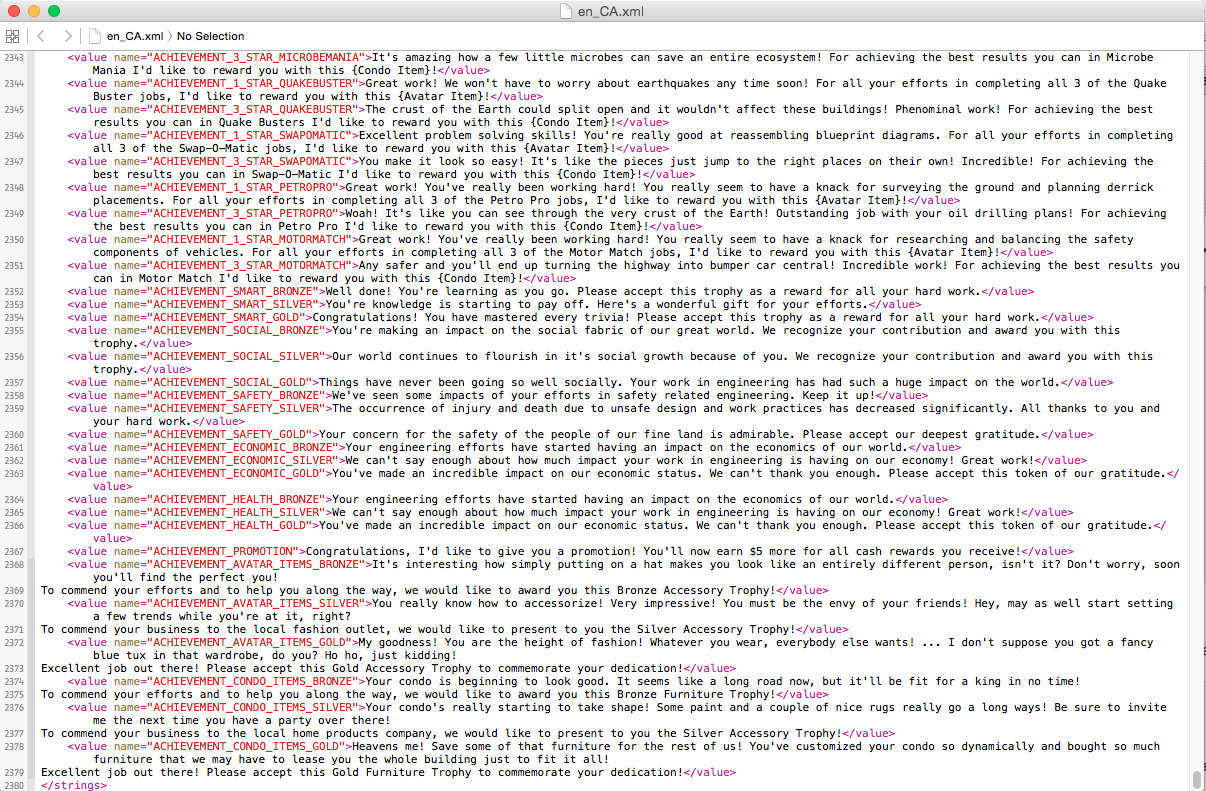 Very cluttered JSON