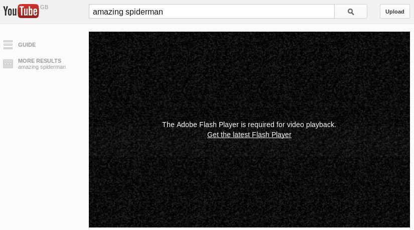 YoutubeUsedFlash