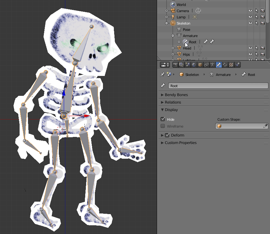 Rig and Animate 2D Sprites in Blender for the Web, Part 1: Rigging