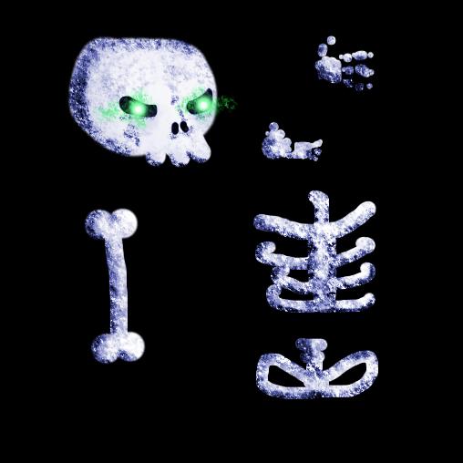 Skeleton Texture