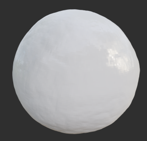 Image of a bumpy sphere