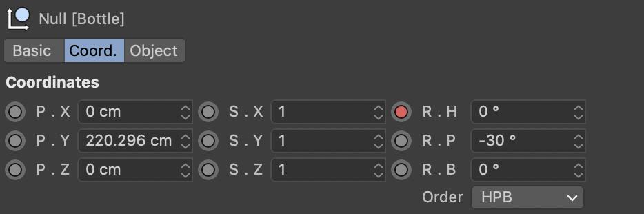 Assigning keyframes